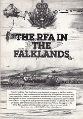The RFA in the Falklands