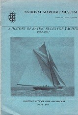 A history of rating rules for yachts 1854-1931