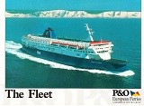 P and O The Fleet (diverse years)
