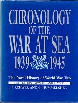 Chronology of the War at Sea 1939-1945