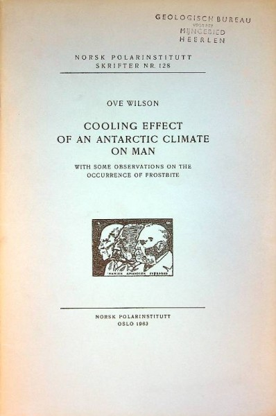 Cooling Effect of an Antarctic Climate on Man