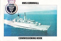 HMS Cornwall Commissioning Book